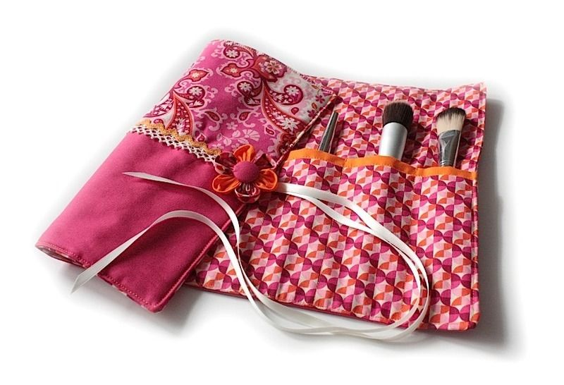Nähanleitung mit Schnittmuster 'Kosmetiktrolle Zoé'  - Nähanleitungen bei Makerist sofort runterladen