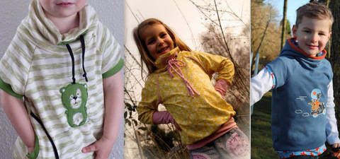 ebook Raglan Hoodie Pullover Gr. 86/92-146/152 bei Makerist sofort runterladen