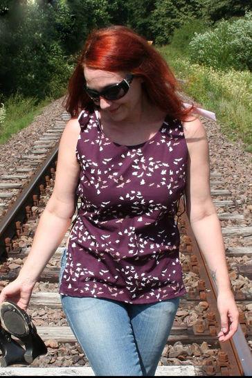 Geknotetes Shirt Amy Nahanleitung und Schnittmuster - eBook - Nähanleitungen bei Makerist sofort runterladen