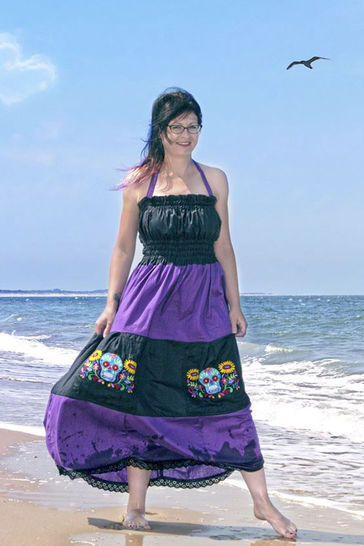 70s Kleid Ivy für Damen Nähanleitung - eBook - Nähanleitungen bei Makerist sofort runterladen