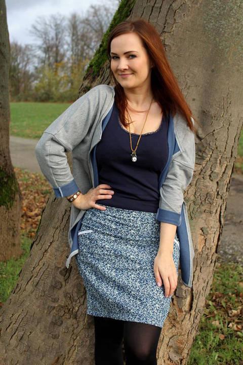 Rock Emily Nähanleitung und Schnittmuster - eBook bei Makerist sofort runterladen