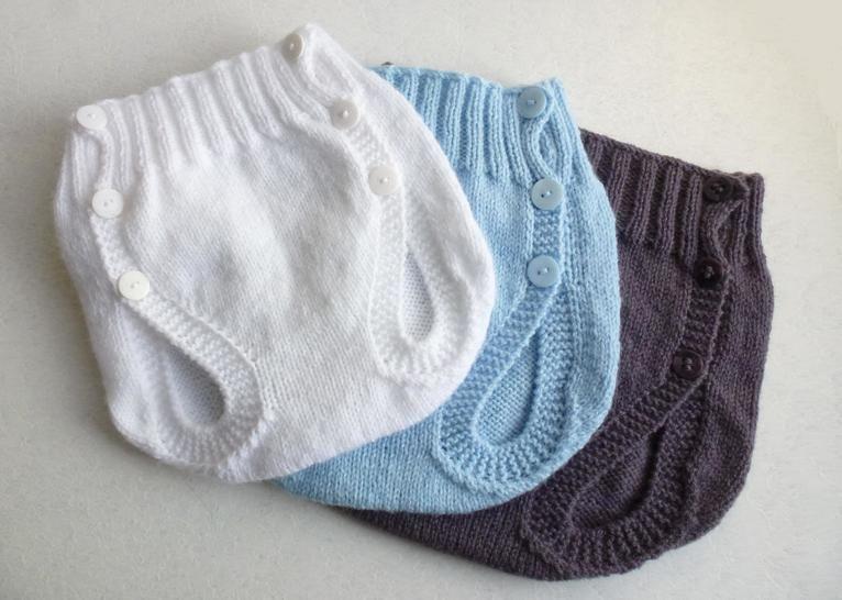 Télécharger Culotte couvre couche, T1/3/6 mois - Tutoriel de tricot. - Modèles de tricot tout de suite sur Makerist