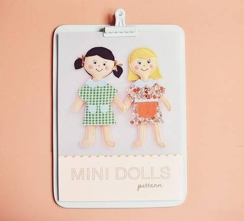 Télécharger Minis Poupées - patron et tuto couture tout de suite sur Makerist