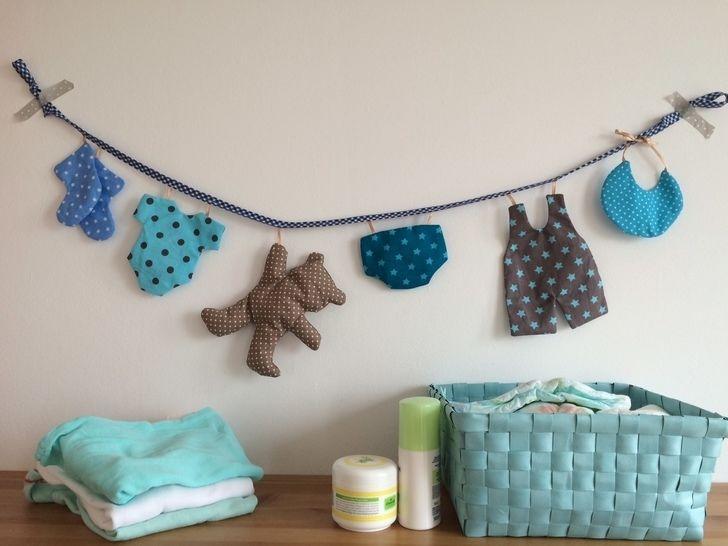 Ebook Hallo Baby- Wäscheleine - Nähanleitungen bei Makerist sofort runterladen