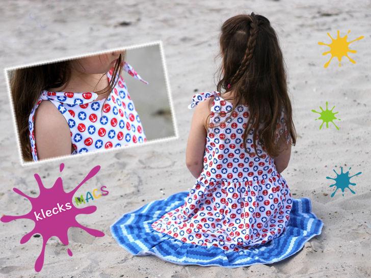 Nähanleitung / E-Book Mädchen Kleid *Sunshine* - Nähanleitungen bei Makerist sofort runterladen