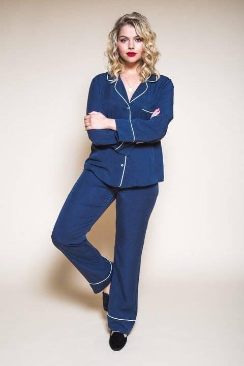 Télécharger Pyjamas Carolyn - patron couture du 34 au 50 tout de suite sur Makerist