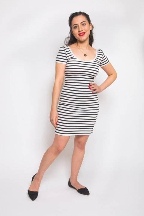 Télécharger Justaucorps ou robe Nettie - patron couture du 34 au 50 tout de suite sur Makerist
