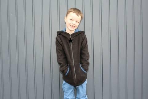 ✂Schnittmuster Vik ✂ Fleecejacke für Jungs bei Makerist sofort runterladen
