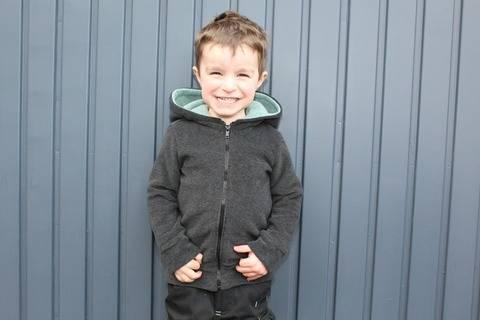 ✂Schnittmuster Mini-Vik ✂ Fleecejacke für kleine Jungs und Mädchen bei Makerist sofort runterladen