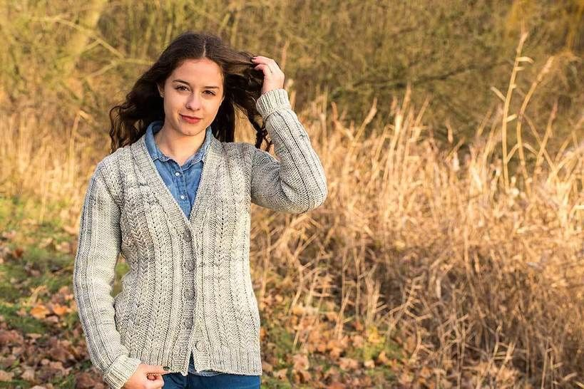 Strickjacke Positive Thoughts  - Strickanleitungen bei Makerist sofort runterladen