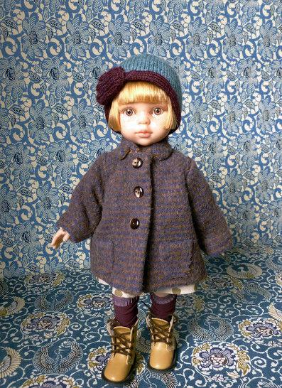 Télécharger  Poulbote - 5 pièces - couture et tricot- pour poupée de 32 cm - Patrons de couture tout de suite sur Makerist
