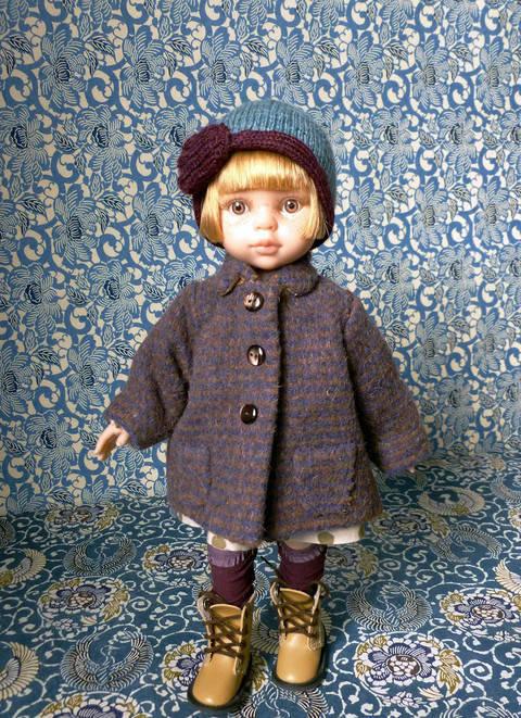 Télécharger  Poulbote - 5 pièces - couture et tricot- pour poupée de 32 cm tout de suite sur Makerist