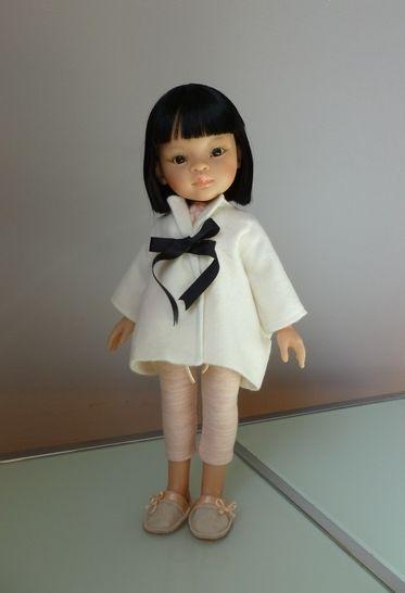Télécharger Habits Poupée 32cm - Nuit de printemps - 4 pièces - couture - Patrons de couture tout de suite sur Makerist