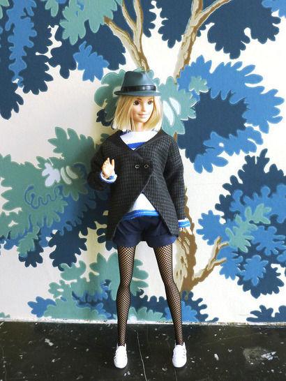 Télécharger Habits poupée mannequin de 29 cm- Basique marinière - 5 pièces - couture - Patrons de couture tout de suite sur Makerist