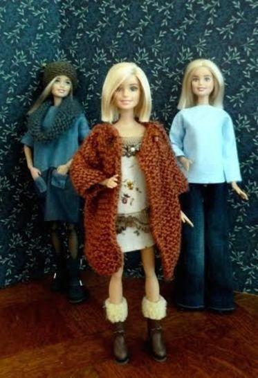 Télécharger Habits poupée mannequin 29 cm- Book débutant - 12 pièces - couture et tricot - Patrons de couture tout de suite sur Makerist