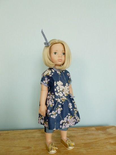 Télécharger Habits poupée 50cm - Asumi - 2 pièces - couture - Patrons de couture tout de suite sur Makerist