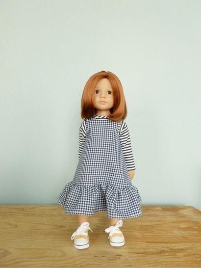 Télécharger Habits poupée 50cm - Brigantine - 2 pièces - couture - Patrons de couture tout de suite sur Makerist