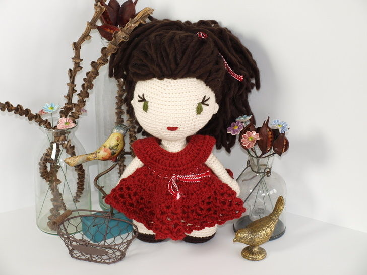 Download Crochet Doll Tutorial - Anna - Crochet Patterns immediately at Makerist