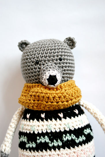 Download Albert - Detailed Pattern  - Crochet Patterns immediately at Makerist