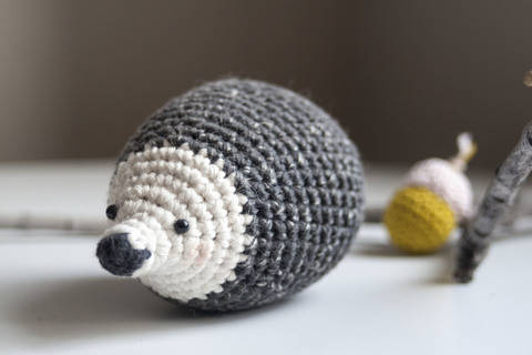 Download Hedgehog - Detailed Pattern immediately at Makerist
