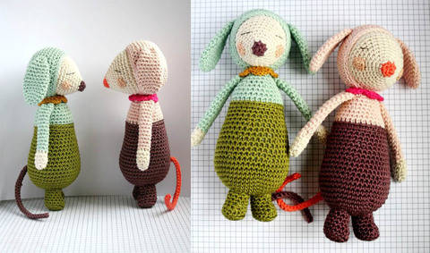 Download Olive and Violet - Detailed Pattern immediately at Makerist
