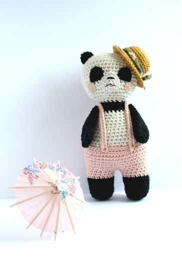 Download Panda-Sun - Detailed Pattern - Crochet Patterns immediately at Makerist