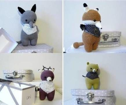 Download Woodland - Detailed Pattern - Crochet Patterns immediately at Makerist