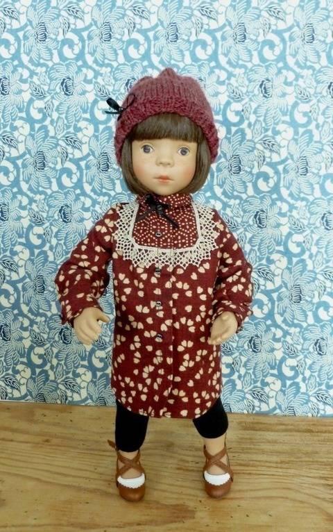 Télécharger Habits poupée 34 cm - Galopin - 4 pcs - couture et tricot tout de suite sur Makerist