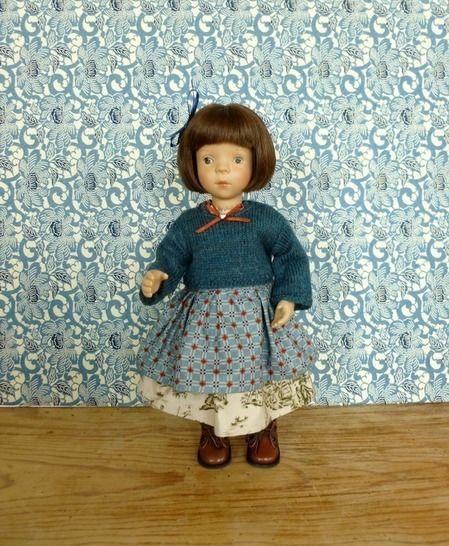 Télécharger Habits poupée 34 cm - Galure - 3 pièces - couture et tricot - Modèles de tricot tout de suite sur Makerist