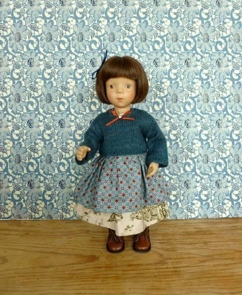 Télécharger Habits poupée 34 cm - Galure - 3 pièces - couture et tricot tout de suite sur Makerist