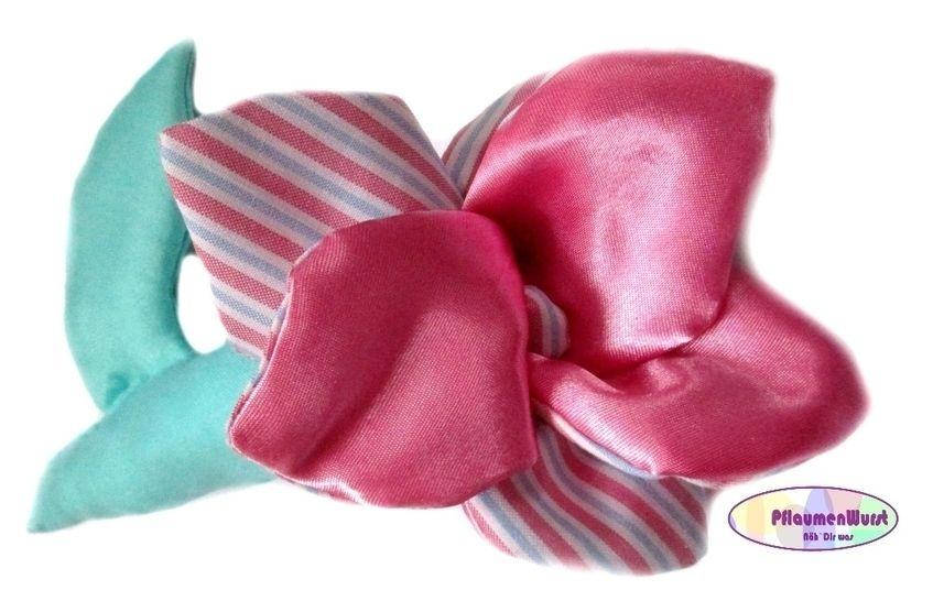 Nähanleitung Greifling Blume Spielzeug Baby Rose Schnitt - Nähanleitungen bei Makerist sofort runterladen