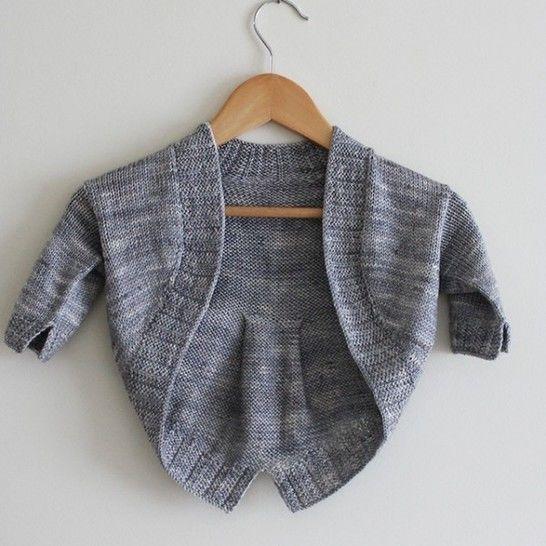 Télécharger Petite Fille Modèle - Boléro  2-10a - Tricot - Modèles de tricot tout de suite sur Makerist