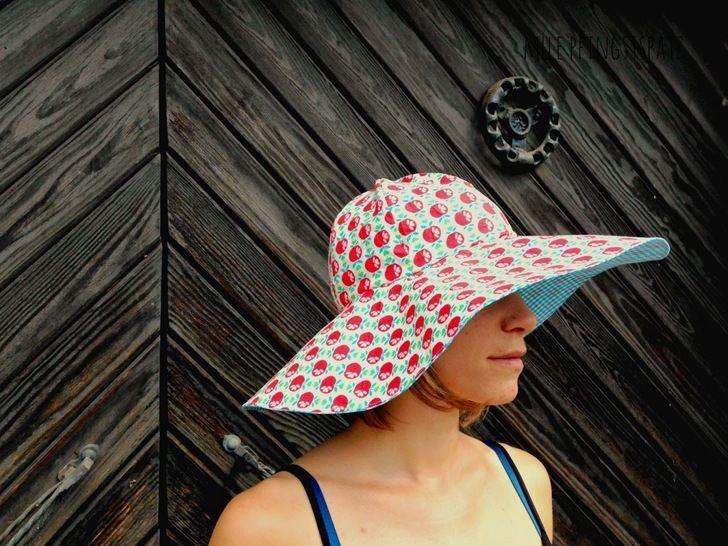 Trudi Nähanleitung/ Ebook SonnenSommerRegenHut  - Nähanleitungen bei Makerist sofort runterladen
