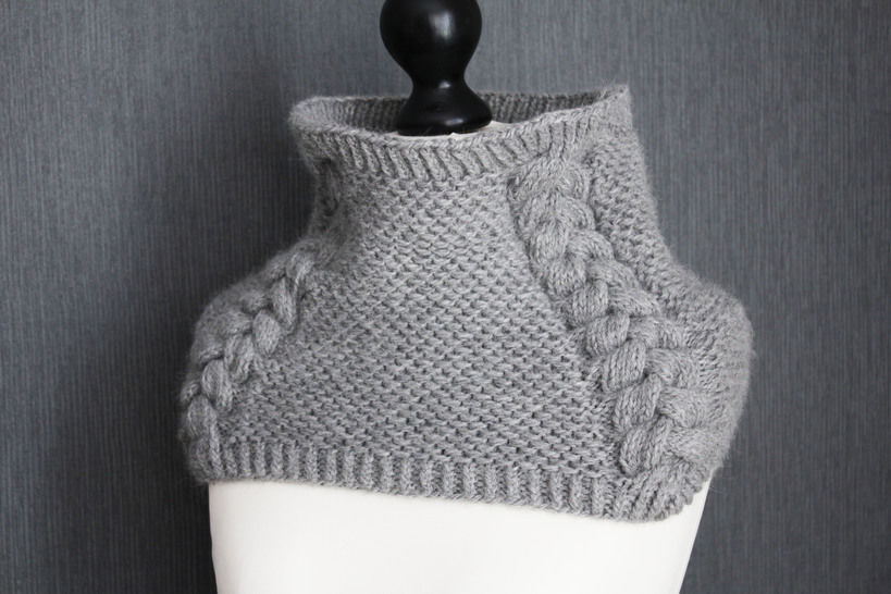 Télécharger Back to Scowl - Col - Tricot - Modèles de tricot tout de suite sur Makerist