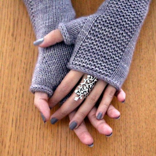Télécharger Heaven Mitts - Mitaines S M L - Tricot - Modèles de tricot tout de suite sur Makerist