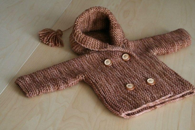 Télécharger Jules - Manteau bébé 1m-4a - Tricot - Modèles de tricot tout de suite sur Makerist
