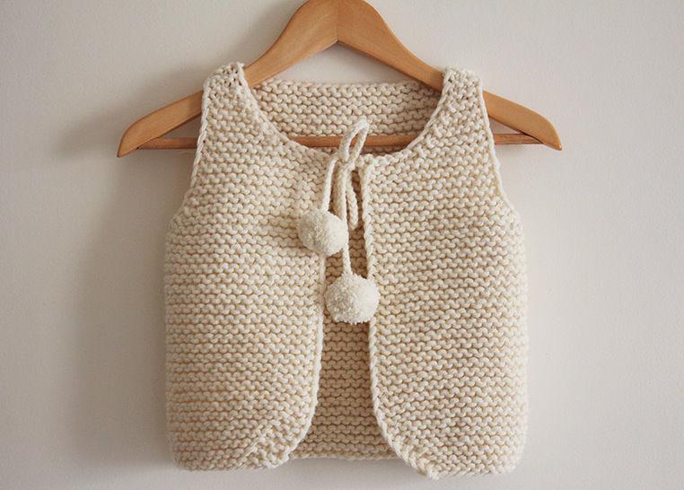 7682046ffc54 Télécharger Lil Shepherd - Gilet de berger bébé à adulte - Tricot - Modèles  de tricot