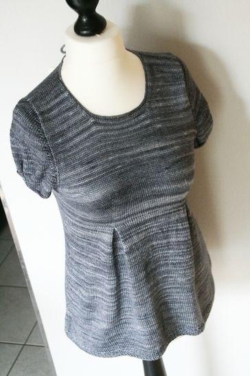Télécharger Lisette - Tunique femme XS-3XL - Tricot - Modèles de tricot tout de suite sur Makerist