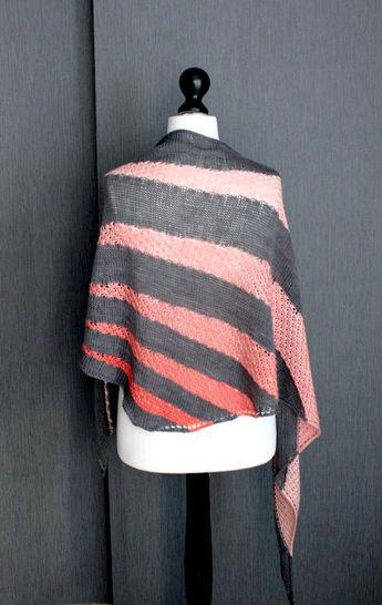 Télécharger Soften Châle - Tricot - Modèles de tricot tout de suite sur Makerist