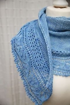 Download L'Envolée Shawl - Knitting - Knitting Patterns immediately at Makerist