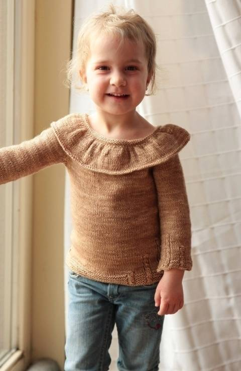 Download On The Moon Children's Sweater - Knitting immediately at Makerist