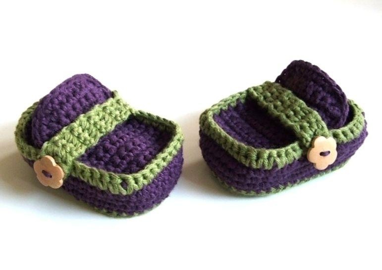 ❤ Häkelanleitung ❤ In the Woods Baby Loafers - Häkelanleitungen bei Makerist sofort runterladen