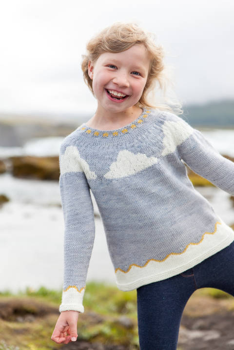 Download Little Vedur Children's Jumper - Knitting immediately at Makerist