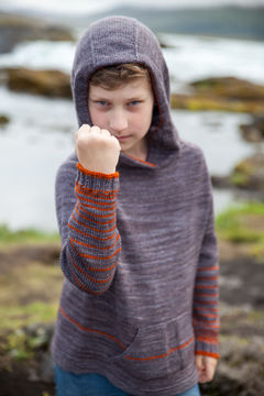 Download Richter Hooded Children's Jumper - Knitting - Knitting Patterns immediately at Makerist
