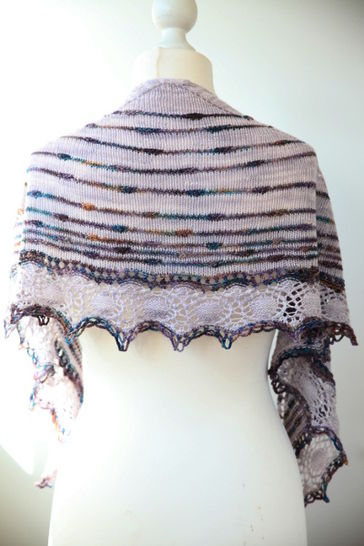 Download Turbulences Shawl - Knitting - Knitting Patterns immediately at Makerist