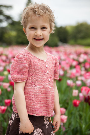 Download Sweet Butterfly Children's Cardigan - Knitting  - Knitting Patterns immediately at Makerist