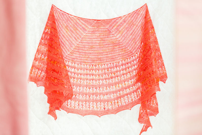 Download Agrumes Shawl - Knitting  - Knitting Patterns immediately at Makerist