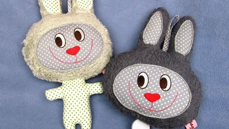 E-Book Spieluhr und Körnerkissen Hase Privatnutzung - Nähanleitungen bei Makerist sofort runterladen