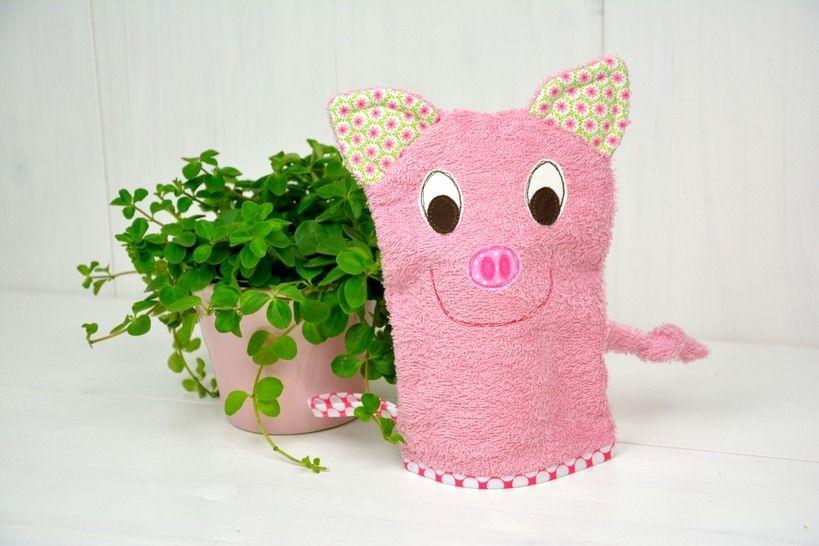 E-Book Waschlappen Schwein Privatnutzung - Nähanleitungen bei Makerist sofort runterladen