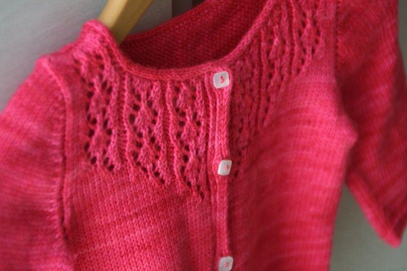 Télécharger Little Trellis - Cardigan Enfant 1 au 12 ans - Tricot - Modèles de tricot tout de suite sur Makerist